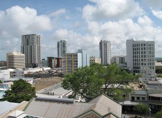 Darwin skyline during the day