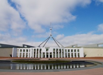 Parliament House in Canberra ACT